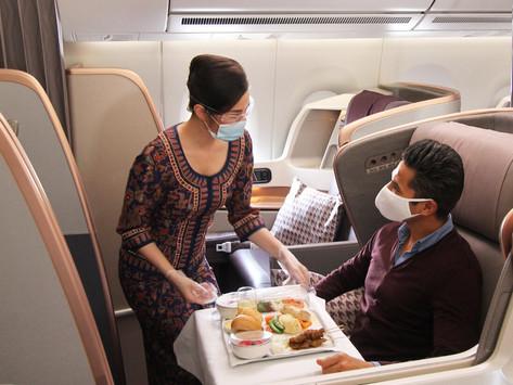 Διεθνής διάκριση για τα μέτρα ασφάλειας κι υγιεινής σε Singapore Airlines και Scoot