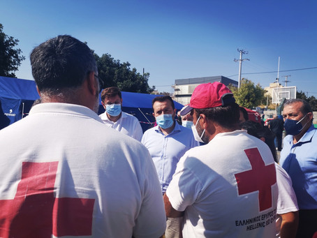 Παππάς: να δοθούν γρήγορα οι αποζημιώσεις στους σεισμόπληκτους