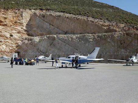 Τα αεροσκάφη του European Cirrus Rally 2021 στο Καστελλόριζο