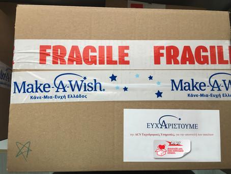 Η ACS στηρίζει το Make-A-Wish