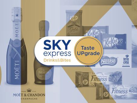 Η νέα υπηρεσία SKY Drinks & Bites από τη Sky Express