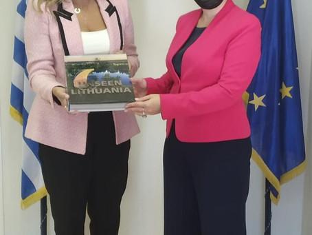 Ευκαιρία τουριστικής ανάπτυξης μεταξύ Ελλάδας και Λιθουανίας