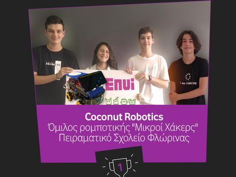 Οι «μικροί χάκερς» νικητές του διαγωνισμού ρομποτικής της Vodafone