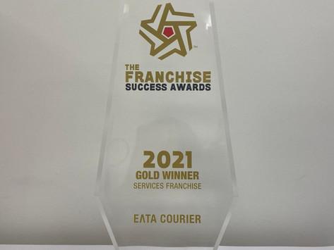 Χρυσό για την ΕΛΤΑ Courier στα Franchise Success Awards 2021