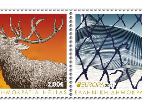 Γραμματόσημα για τα απειλούμενα άγρια ζώα