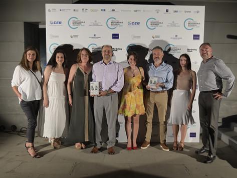 Ολυμπία Οδός: δύο χρυσά στα βραβεία Υπεύθυνης Επιχειρηματικότητας 2021