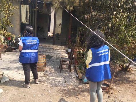 Συνεχίζονται οι έλεγχοι των κτιρίων στις πληγείσες περιοχές