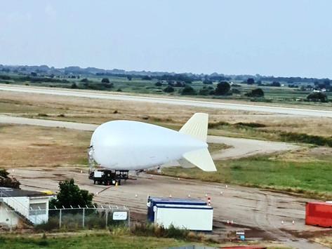 Στο αεροδρόμιο Αλεξανδρούπολης το αερόστατο επιτήρησης συνόρων