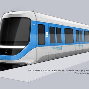 Πλήρως αυτοματοποιημένο σύστημα μετρο της γραμμής 18 στο Παρίσι από την Alstom
