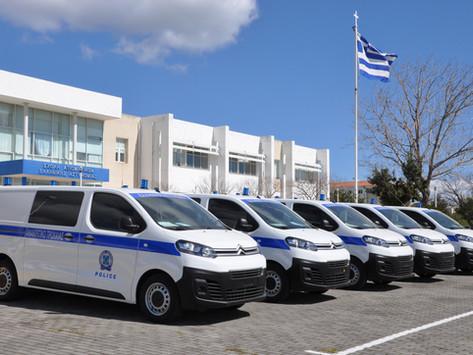 32 οχήματα από την Ολυμπία Οδό στην ΕΛΑΣ