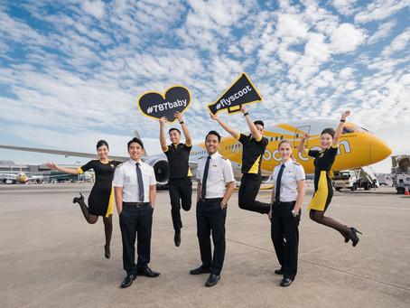 Scoot: τέταρτη πτήση στα «Αθήνα-Βερολίνο» και «Αθήνα-Σιγκαπούρη»