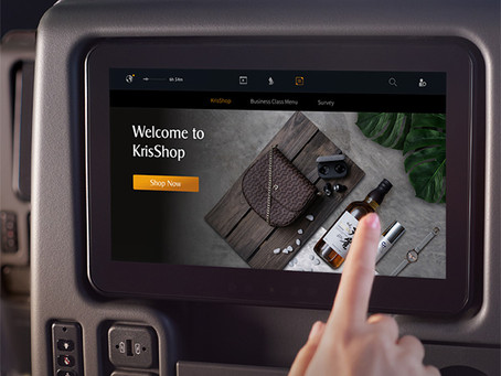 Singapore Airlines: ηλεκτρονικές αγορές εν πτήσει