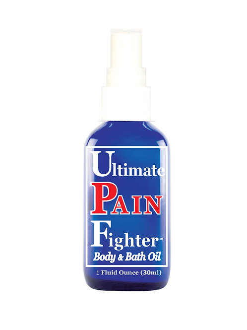24- 1 oz. (30ml) Sprayer Ultimate PAIN Fighter Body & Bath Oil