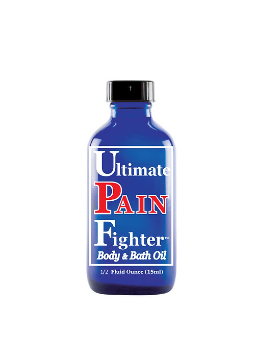 12- 1/2 oz. (15ml) Ultimate PAIN Fighter Body & Bath Oil With Lid