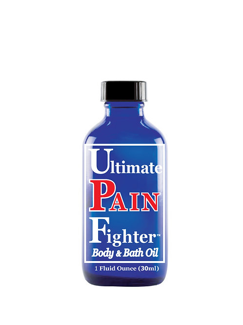 12 - 1 oz. (30ml) Lid Ultimate PAIN Fighter Body & Bath Oil