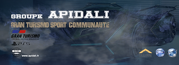 Groupe APIDALI Gran Turismo Sport Communauté