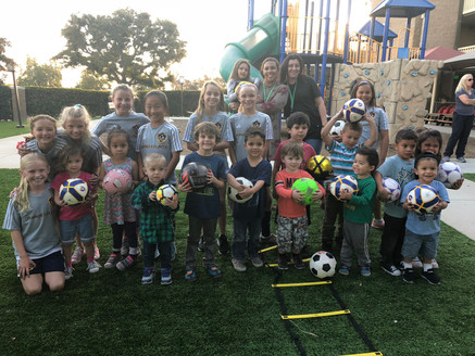 LA Galaxy OC Teaches Soccer at OC Rescue Mission