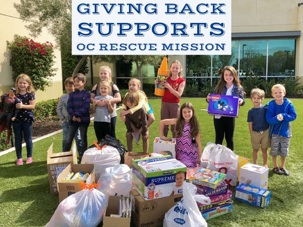 We Helped OC Rescue Mission