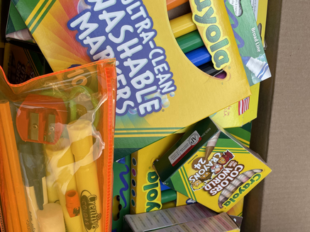 School Supply Drive for Thomas House