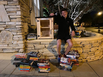 Little Free Libraries in Orange County