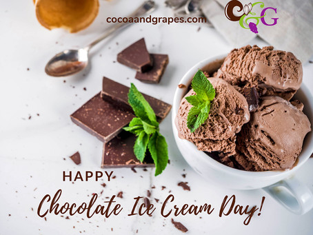 Happy Chocolate Ice Cream Day!