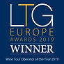 Luxury Travel Guide Wine Tour Operator of the Year 2019 Award for Cocoa & Grapes
