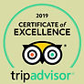 TripAdvisor certificate of excellent award for Cocoa & Grapes