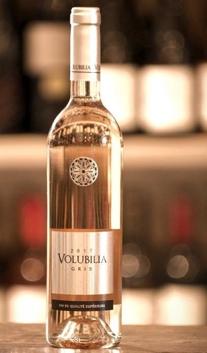 Bottle of 2017 Volublia Gris, vin de qualité supérieure