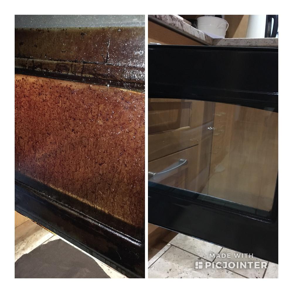 oven clean exeter devon door