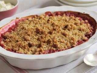 Foodie Friday: Rhubarb Crumble
