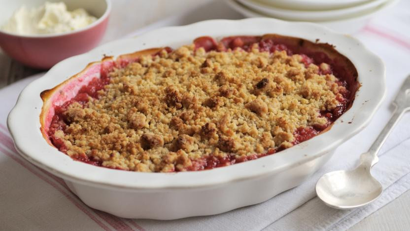 rhubarb crumble exeter devon ovencleaning