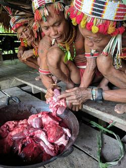 la tribu mentawa shaman