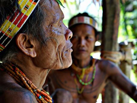 MENTAWAI Shaman indigenous tribes