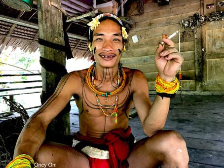 MENTAWAI EXPERIENCEAman tiru new generation of new shamans new tattoos of the tribe in Siberut Menta