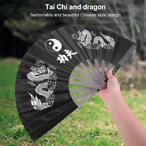 Steel Kung Fu fan