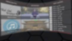 VR menu for Tai Chi