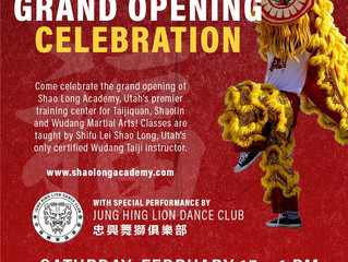GRAND OPENING - Feb 15th, 1pm