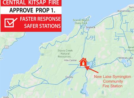 Central Kitsap PROP 1. builds new Lake Symington Fire Station