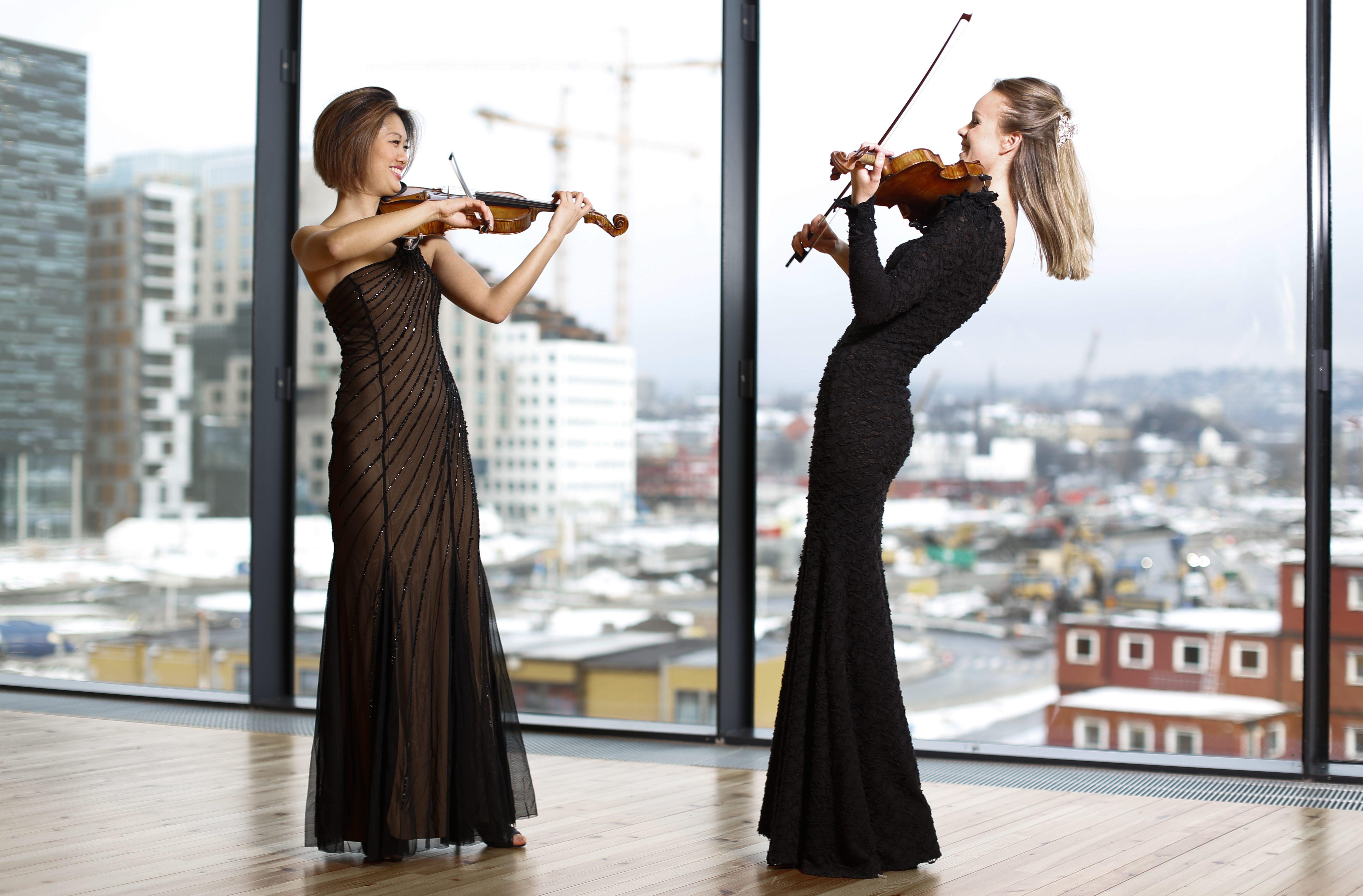 Catharina Chen og Camilla Kjøll,DNOB