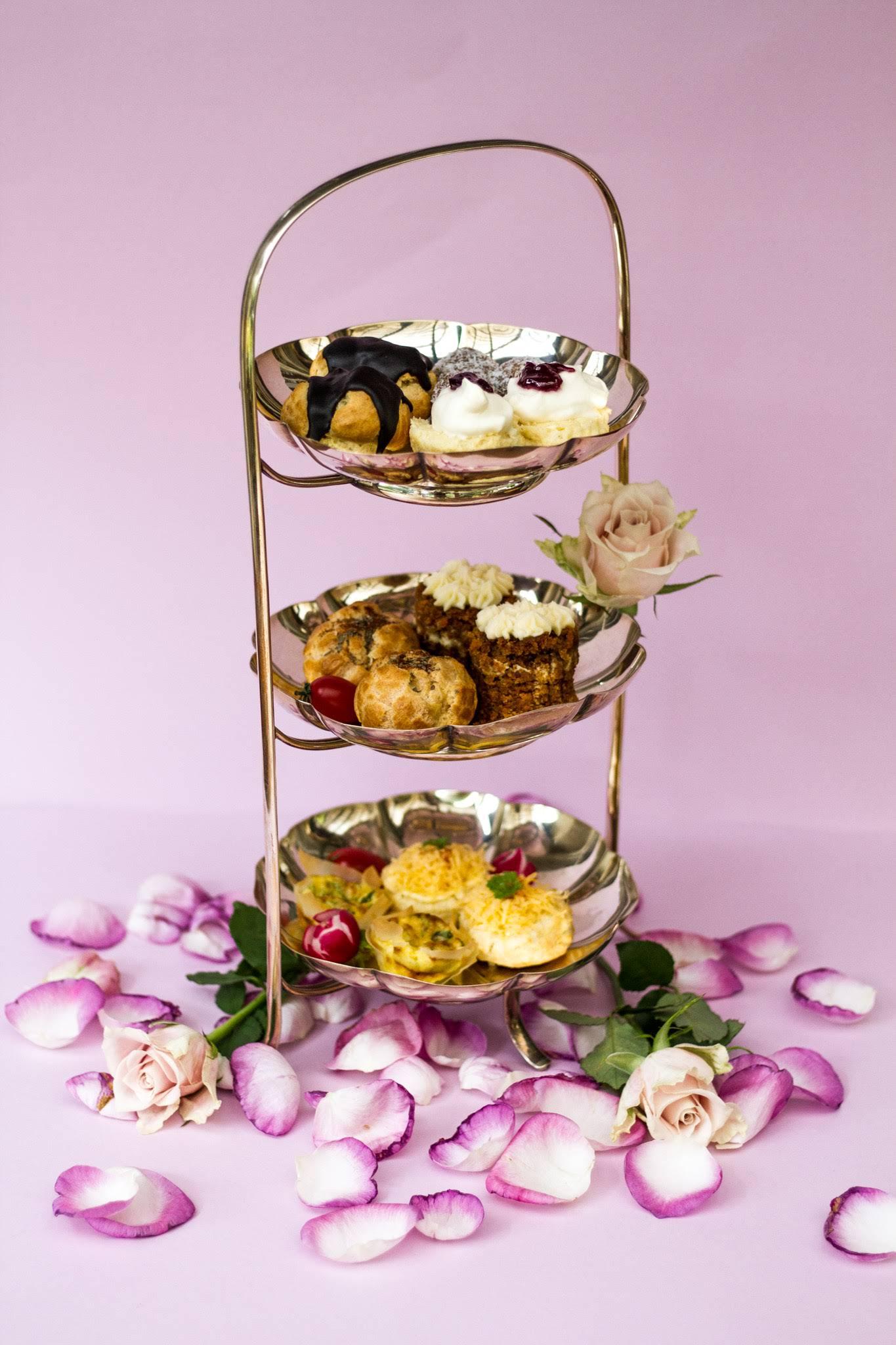 Platters served as high tea