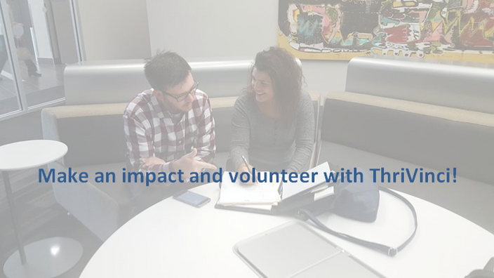 Become a ThriVinci Volunteer Consultant!