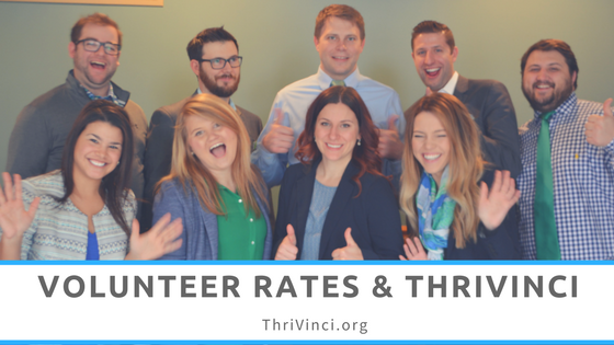 Volunteer Rates & ThriVinci