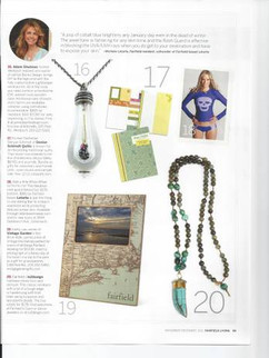 Featured in Fairfield Living Magazine Nov/Dec 2011