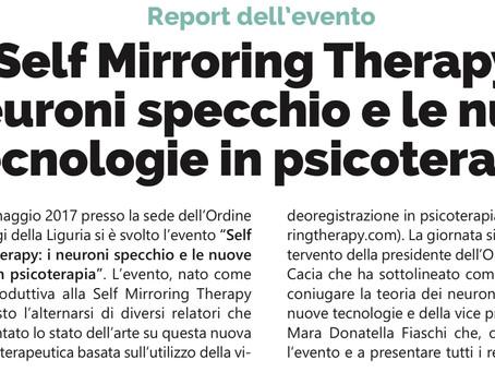 Il nostro team sul giornale dell'Ordine degli Psicologi della Liguria!