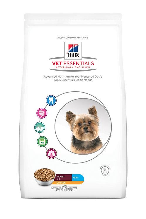 HILL'S VET ESSENTIALS CANINE ADULT MINI 獸醫保健犬乾糧 成犬1-6歲 (小型犬) 2KG