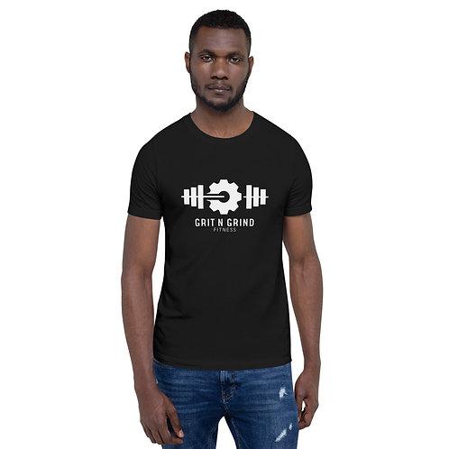 'Grit N Grind Fitness' Men's Graphic T-Shirt