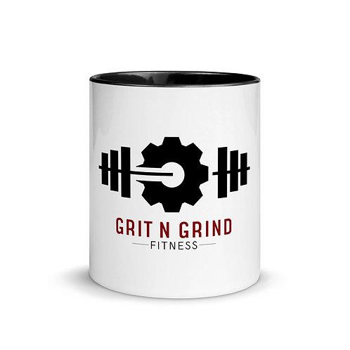 Grit N Grind Fitness Mug with Color Inside