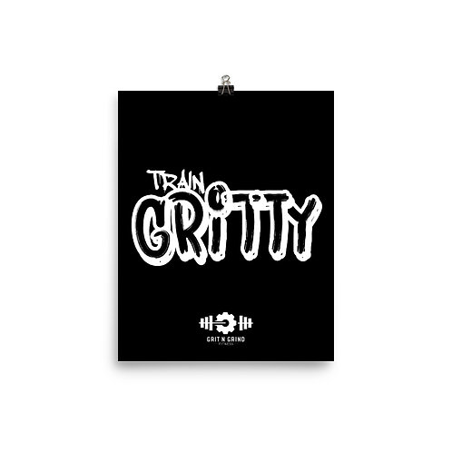 Train Gritty Poster