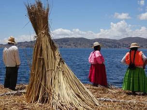 Ile Uros Titino sur Lac Titicaca