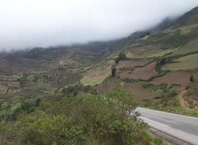 Route pour Puerto Misahualli - Amazonie